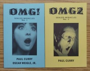 Paul Curry's Sealed Miracles 2-Book Lot (Complete Set)