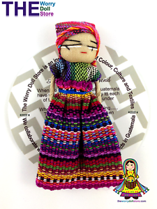 New Worry Doll Girl 8cm with Story
