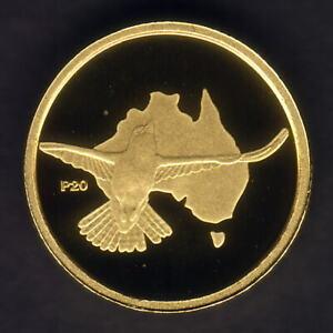 Australia-2009-2002-1-20th-oz-Gold-Kookaburra-5-Perth-Mint-Issue-Proof