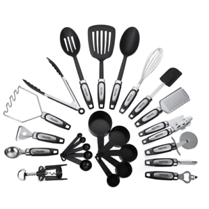 '25-Piece-Kitchen-Utensils-Set-Cooking-Tools-amp-Gadgets-Stainless-Steel-amp-Nylon' from the web at 'https://i.ebayimg.com/images/g/lL4AAOSwgKpZsLfy/s-l300.png'