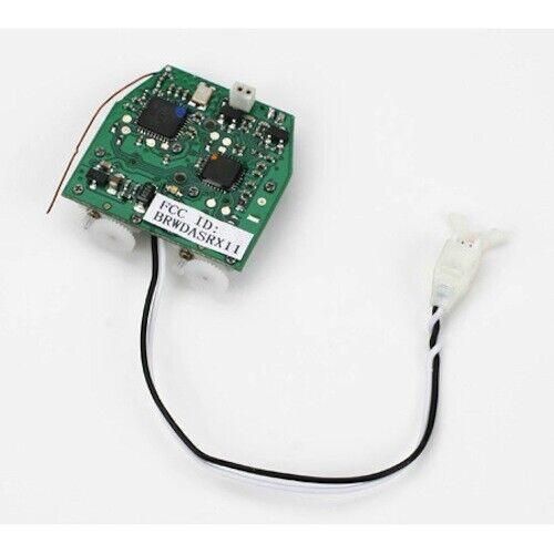 - Flite EFLH 3001 5 E en 1 Unidad De Control Gyro Receptor ESC Servos Mezclador  Blade mSR