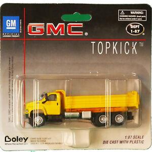 Die-Cast-GM-Top-Kick-Heavy-Duty-Dump-Truck-HO-Scale-1-87-by-Boley