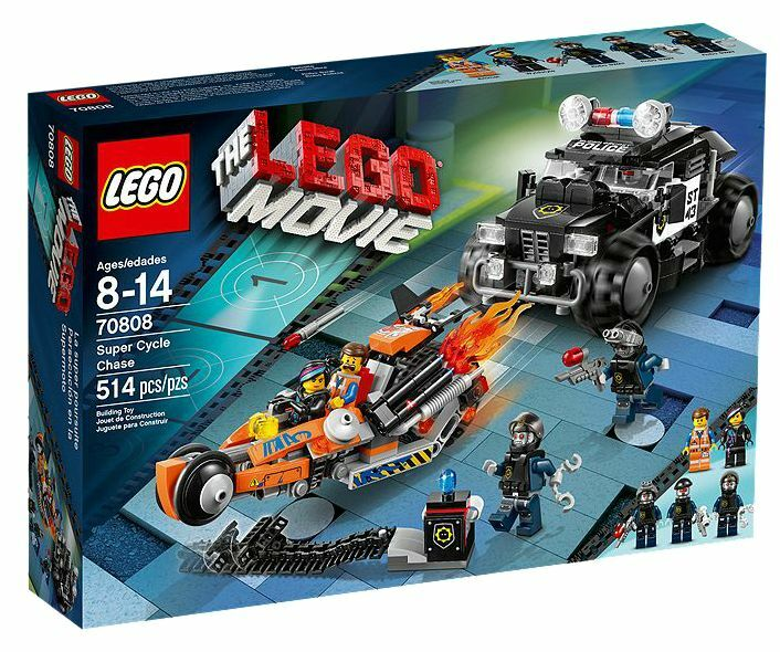 LEGO® The Lego Movie 70808 Superbike Verfolgung_Super Cycle Chase Chase Chase NEW MISB NRFB ac0690