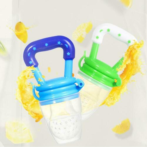 Portable Baby Food Fruit Nipple Feeder Pacifier Safety Soft Silicone Feeding z