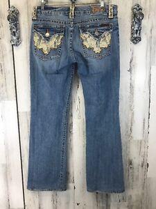 Me Jeans Med Miss Denim Wash Designer Bootcut Taille 30 qan1Hx