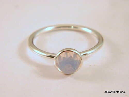 40f716f4d23a0 NWT AUTHENTIC PANDORA RING OCTOBER DROPLET OPALESCENT BIRTHSTONE #191012NOP