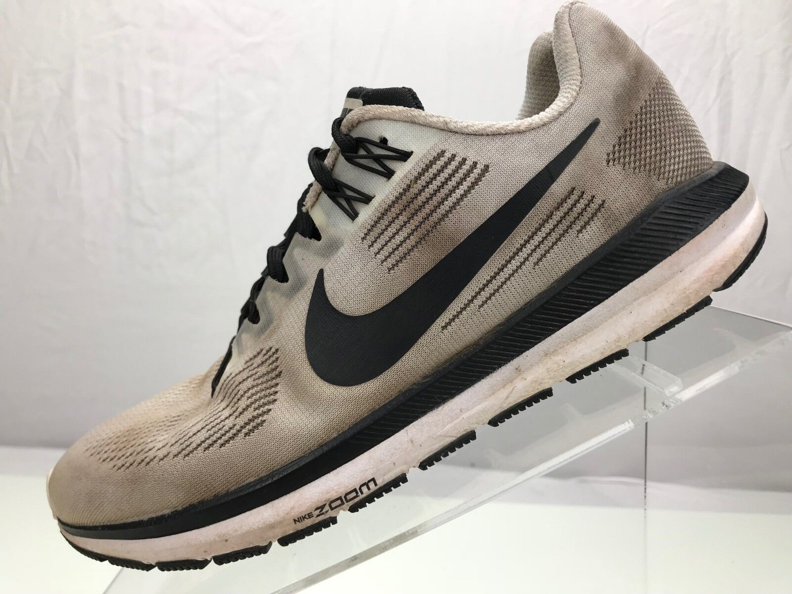 get cheap b491e 68ce3 Nike Air Zoom Structure 21 Running Sneakers- Training White Black White Black  White