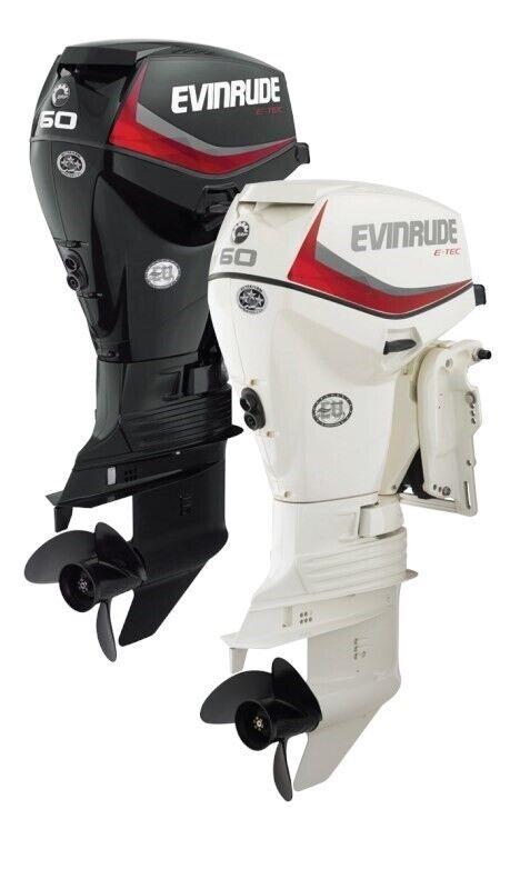 påhængsmotor Evinrude, hk 50, benzin