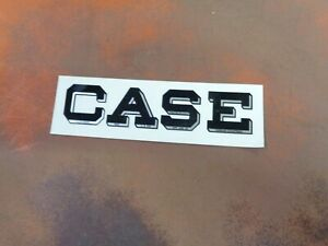 CASE 1977-1982 GARDEN TRACTOR WHITE SEAT DECAL STICKER