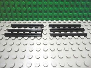 LEGO Lot of 12 Black 6 Length Technic Mindstorms Axle Pieces