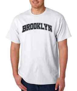 NEW YORK CITY NY NYC HIP ALL COLOURS HELLO BROOKLYN T-SHIRT SIZES S M L XL