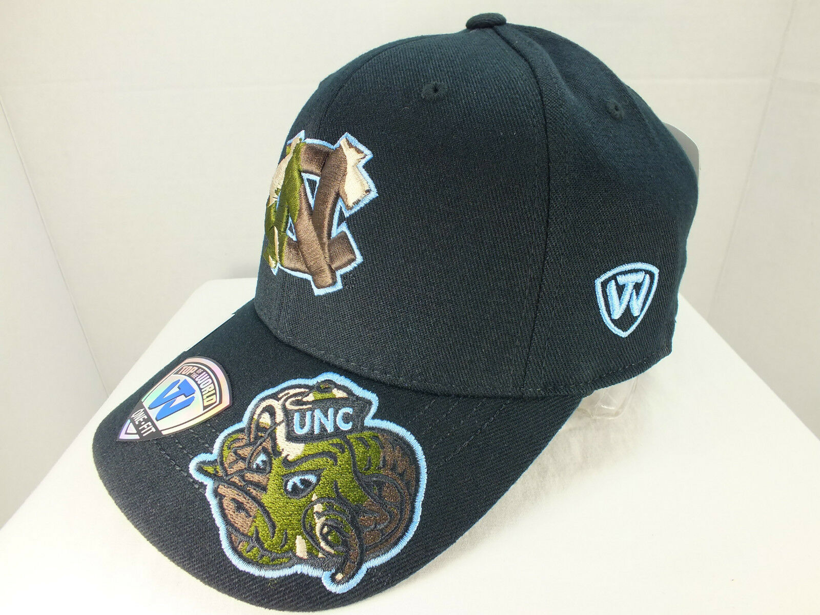 release date: d44ad 45e93 ... inexpensive north carolina tar heels ncaa fit by retro hat cap new by  fit top of