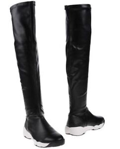 6 Rrp Sizes Knee The 'margaret' £180 Black Over Boots So•queen 5 Uk BAwPx8YW