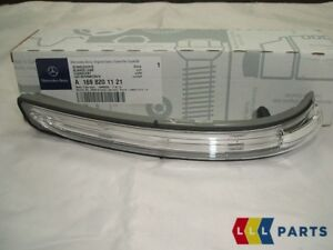 NEW-GENUINE-MERCEDES-BENZ-A-B-CLASS-LEFT-MIRROR-REPEATER-INDICATOR-LAMP