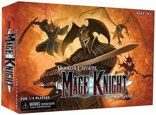 Mage Knight Board spel Wizungar BRAND NYA ABUspelR