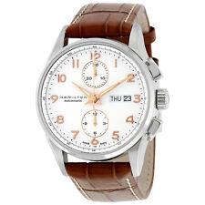 Hamilton Jazzmaster Maestro White Dial Leather Strap Mens Watch H32576515
