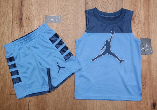 dcbc29957305 Nike Air Jordan Jumpman 2pc Light Blue Tank Top Shirt   Short Set ...