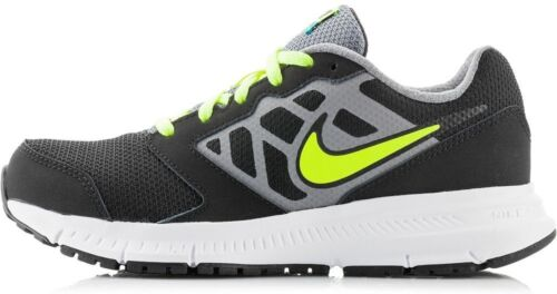 Nike Downshifter 6 GS//PS Black Volt Cool Grey Rio Teal running 684979-012