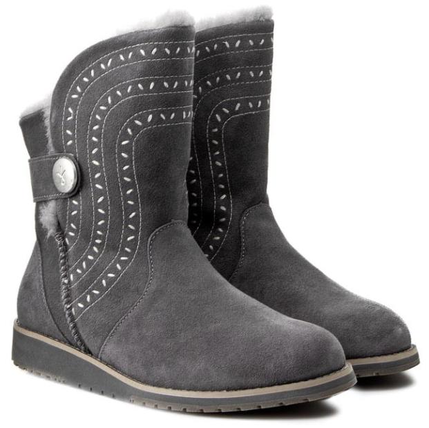 Nuevo En Caja EMU Australia belah lo W11111 W11111 W11111 carbón botas Mujer Talla 9 10  200  Con precio barato para obtener la mejor marca.