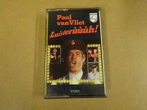 MUSIC-CASSETTE-PAUL-VAN-VLIET-LUISTERUUUH
