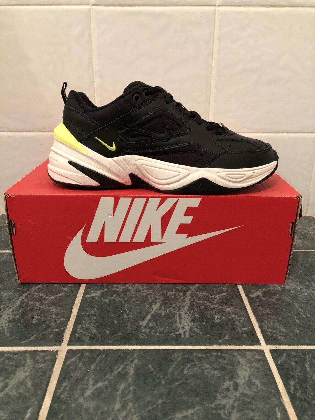 Nike M2K Tekno Negro Volt EE. UU. 9