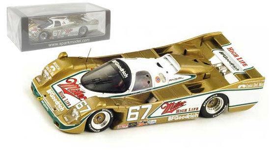 Spark 43da89 PORSCHE 962 Vainqueur 24h daytona 1989-wollek   Bell   Andretti 1 43