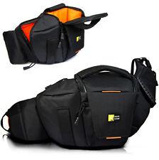 Waterproof DSLR Canon Nikon Sony Camera Shoulder Bag Waist Bag Backpack Padded