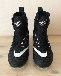 super popular 21d05 5e62f Nike Force Savage Elite TD Football Cleats Men s Size 12 Black White 857063 -011
