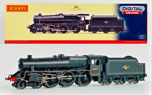HORNBY 00 GAUGE - R2895XS - BR 4-6-0 CLASS 5P5F BLACK 5 '45377' DCC SOUND FITTED