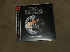 Van der Graaf Generator World Record Japan Mini LP