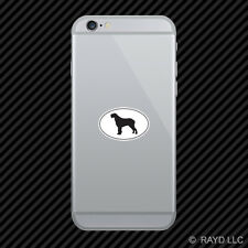 Spinone Italiano Euro Oval Cell Phone Sticker Mobile Die Cut
