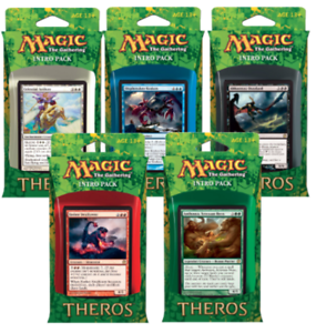 Magic the Gathering MTG Theros Factory Sealed Intro Deck Box of 10 Decks
