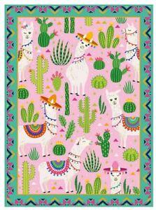Ravensburger 1000 piece jigsaw puzzle CUTE ALPACAS cactus