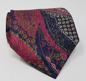 Cravatta-missoni-100-pura-seta-tie-made-in-italy-original-handmade-vintage