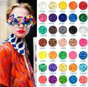 NUOVO-Candy-Color-5mm-in-Plastica-Hama-Perler-Beads-educare-bambini-bambino-regalo-24-COLORI