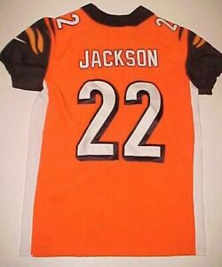 Details about Cincinnati Bengals William Jackson III #22 NFL AFC Orange White Black Jersey 40