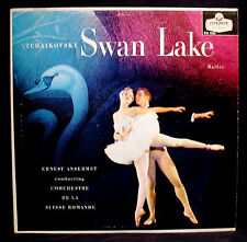 TCHAIKOVSKY-SWAN LAKE BALLET-ERNEST ANSERMET-UK Import-LONDON ffrr #CM.9025
