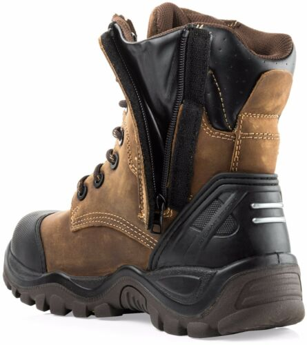Buckler BSH008WPNM High Leg Waterproof Safety Work Boots /& 1 Pair of Socks