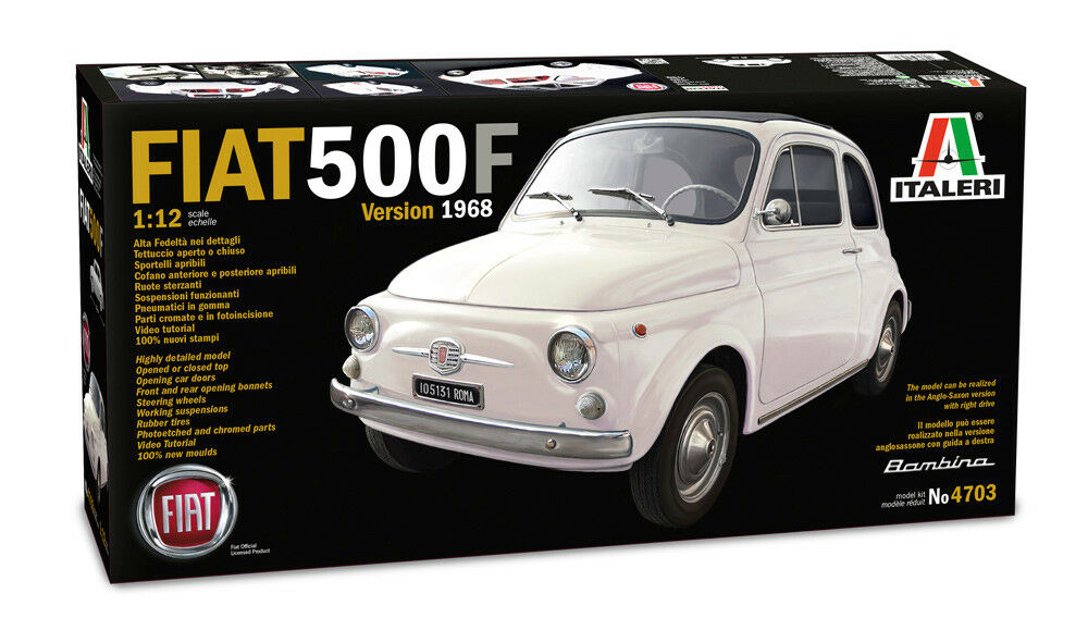 Italeri 4703-fiat 500 (1968) 1