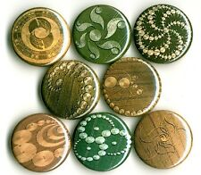 Crop Circle x 8 NEW 1 inch pins buttons badge ufo alien england stone henge