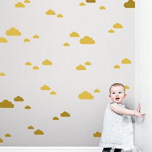 Etiqueta-vinilo-Pegatinas-de-decoracion-nube-mural-dormitorio-nino