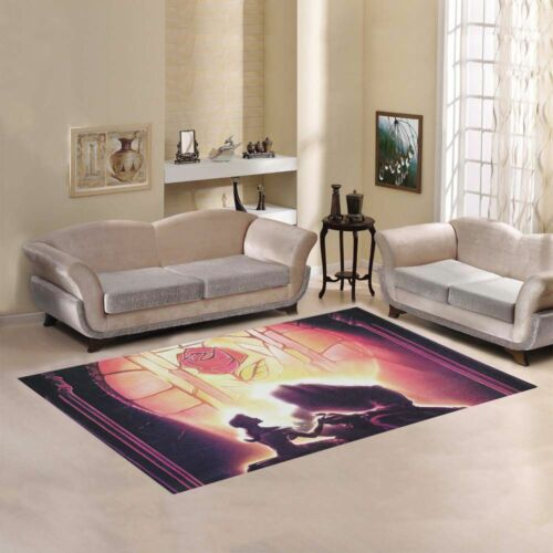 """Sweet Home Collection Custom Beauty and the beast Area Rug Carpet 7/'x 3/'3/"""""""