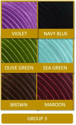 6 Mixed Colours Premium Velvet Ribbon 6 Metres 10mm Use in Crafts /& Decorating