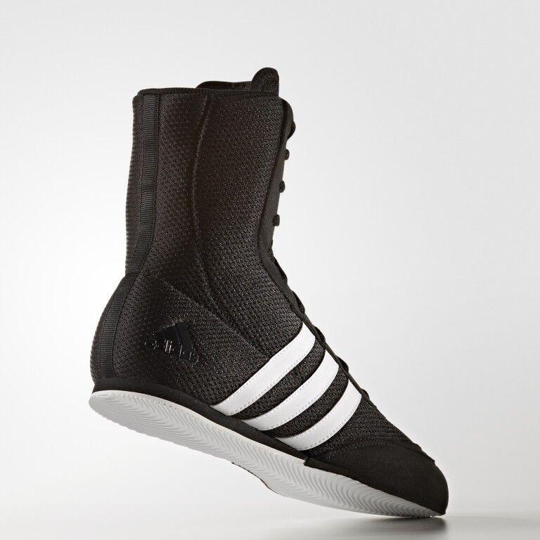 Adidas Boxer Stiefel Turnschuhe Schwarz Erwachsene Kinder Größe 4 4 4 5 6 7 8 9 10 d21ceb