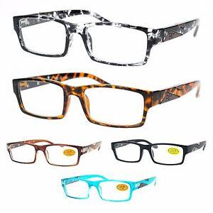 Plastic Framed Fashion Glasses : Pablo Zanetti Narrow Rectangular Plastic Frame Designer ...