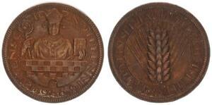 Notgeld Lüdenscheid Notpfennig 1948 EBC 53023