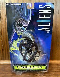 Gorilla-Alien-Vintage-Aliens-Action-Figure-New-MOC-1996-Kenner-90s-Movie-Retro