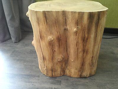 Holz Bank Hocker Beistelltisch Timor Sitz Bank 60cm REDUZIERT   v 119 Euro