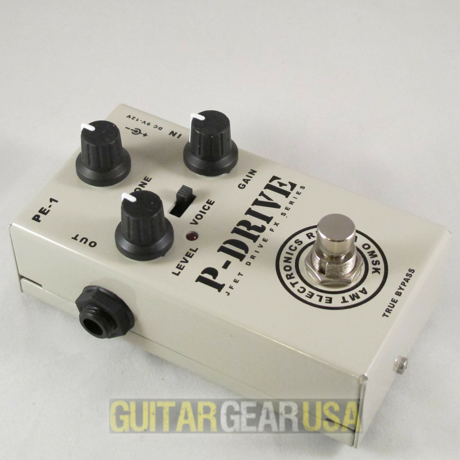 AMT Electronics  P-Drive  - JFET distortion pedal (PE-1) - emulates Peavey 5150