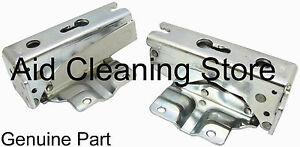 GENUINE-Fridge-Freezer-Hinge-Upper-Lower-Pair-Siemens-Bosch-Baumatic-481147